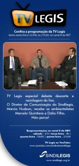 Entrevista Sindilegis sobre a PNRS e a questão da Desativação dos Lixões